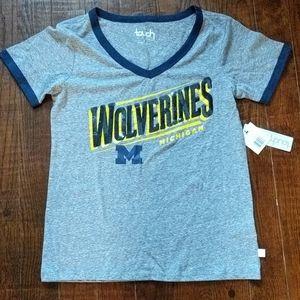 Michigan Wolverines women's t-shirt size small